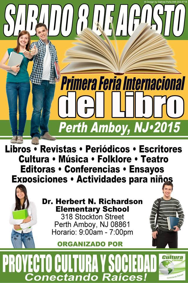 I Feria Internacional del Libro de Perth Amboy en New Jersey