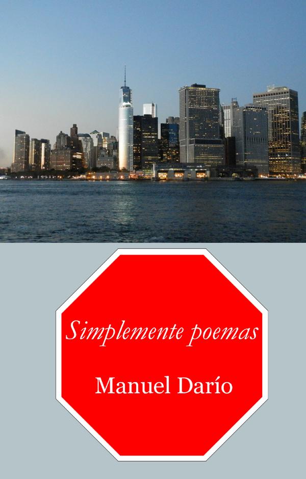 Portada de Simplemente poemas, de Manuel Darío