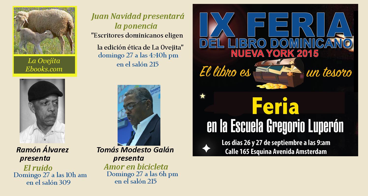 Participación de La Ovejita en la Feria del Libro Dominicana de Nueva York 2015