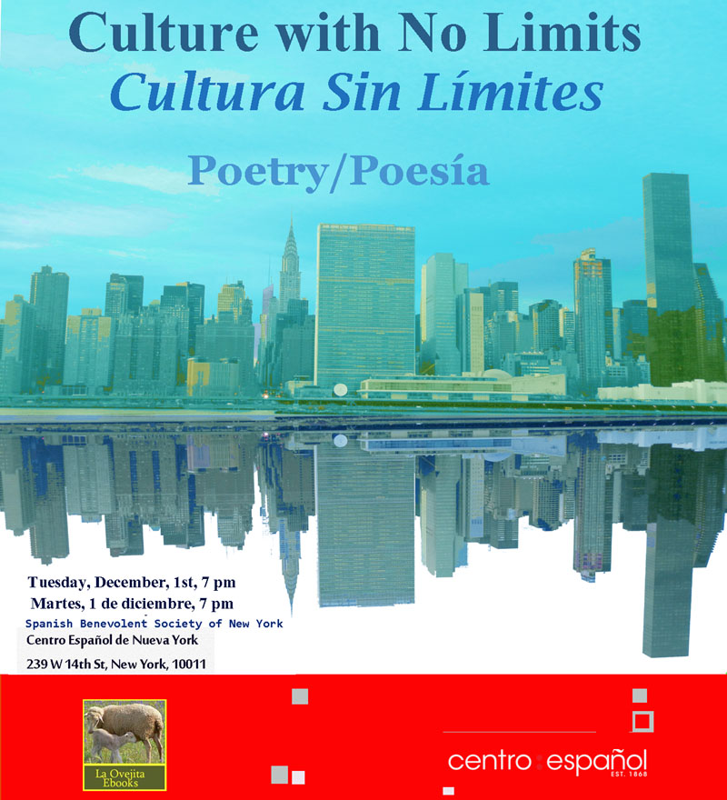 Vuelve una nueva edición de Culture with No Limits/Cultura Sin Límites, el evento bilingüe  de libros de poesía, frases e ilustrados de La Ovejita